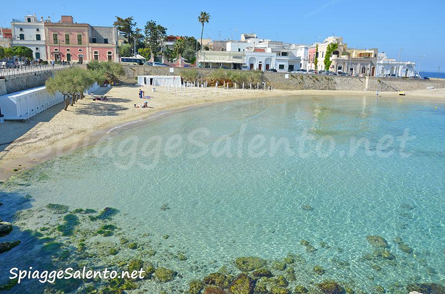 Spiaggia nel Salento a Santa Maria al Bagno
