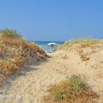 accessi sulle spiagge di sabbia nel Salento