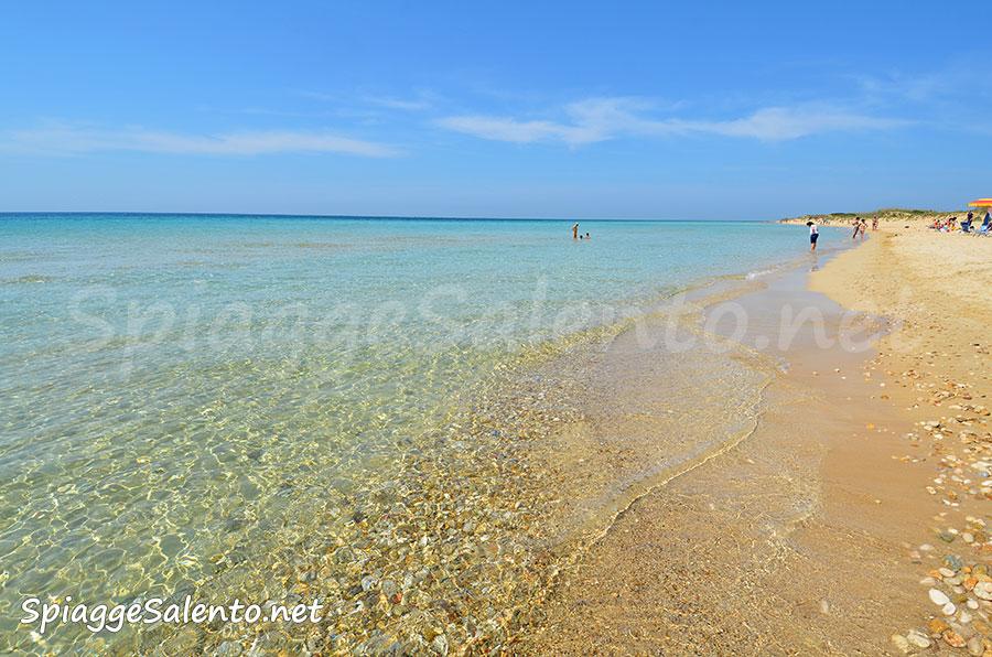 le spiagge del Salento illuminate dal sole