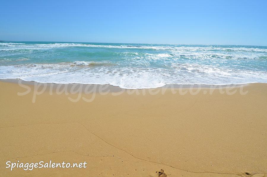 le spiagge di sabbia di Puglia