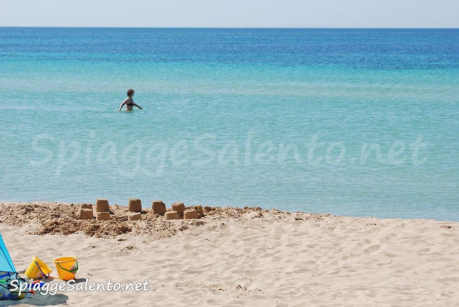 spiaggia posto vecchio salento