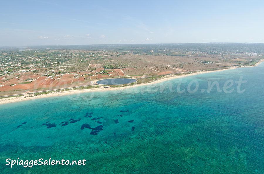 Costa sabbiosa sullo Ionio del Salento
