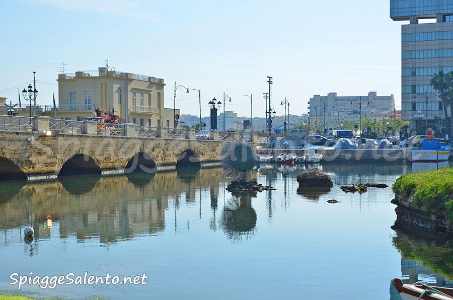 la bellissima città di Gallipoli nel Salento