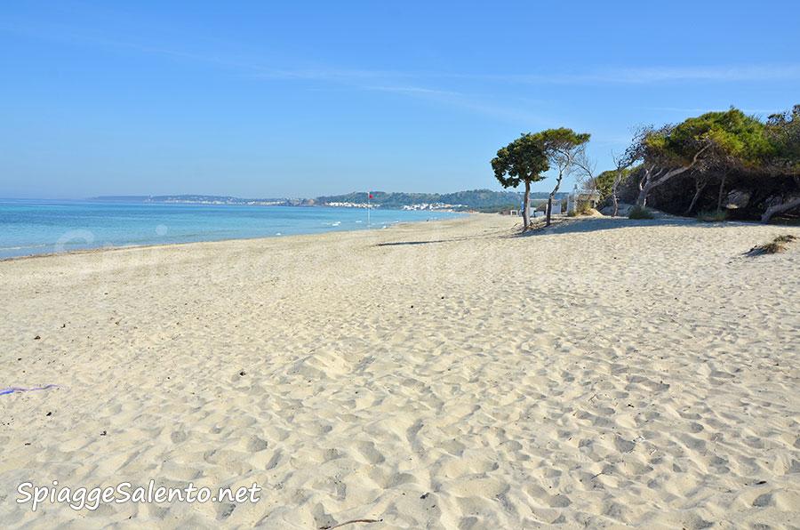 Gallipoli e le sue splendide spiagge di sabbia