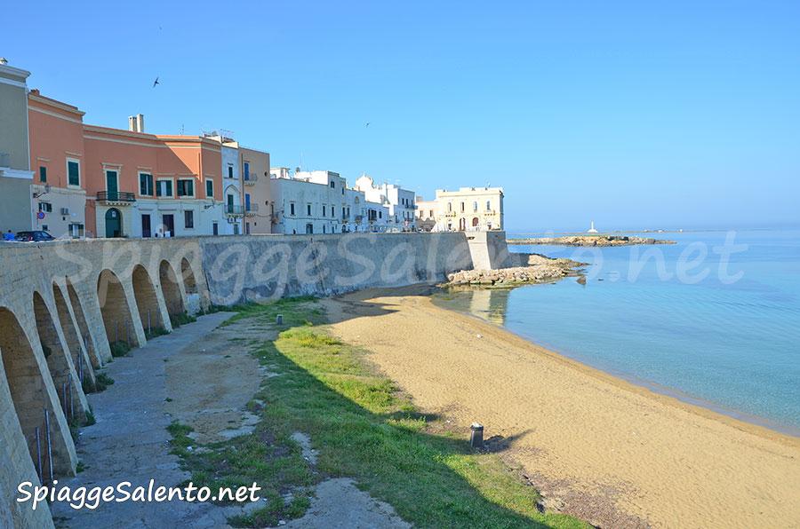 le magnifiche spiagge di Gallipoli, la purita