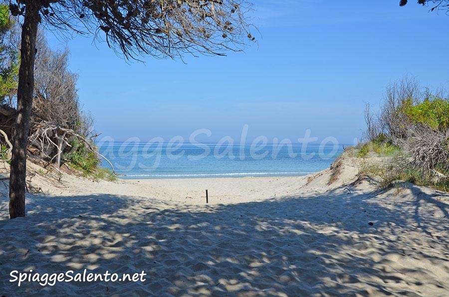 Gallipoli e la spiaggia Rivabella sullo Ionio
