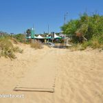 La spiaggia di Posto Vecchio nel Salento