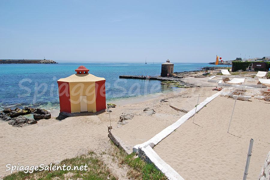 La spiaggia di Leuca nel Salento