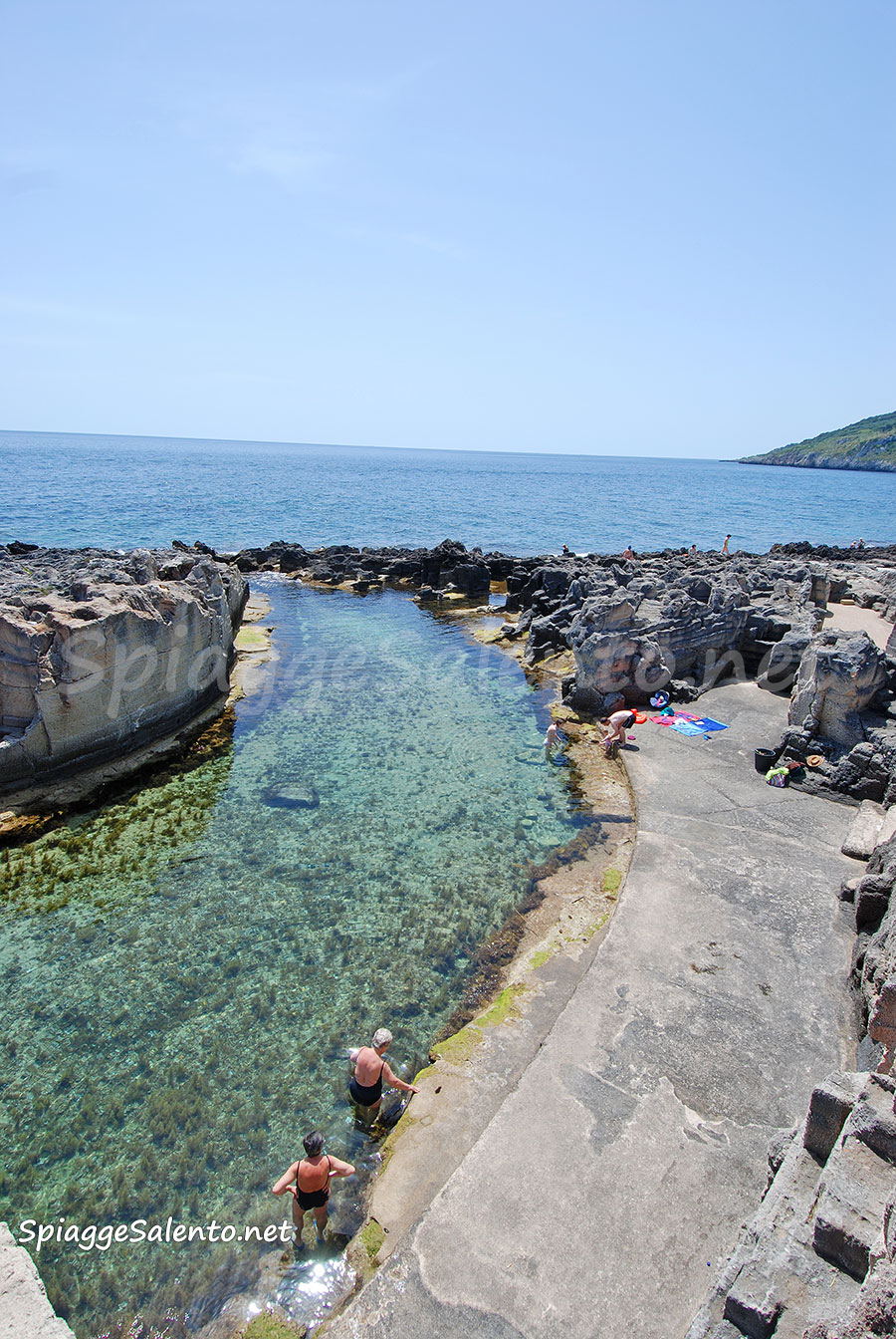 Piscina naturale marina serra salento