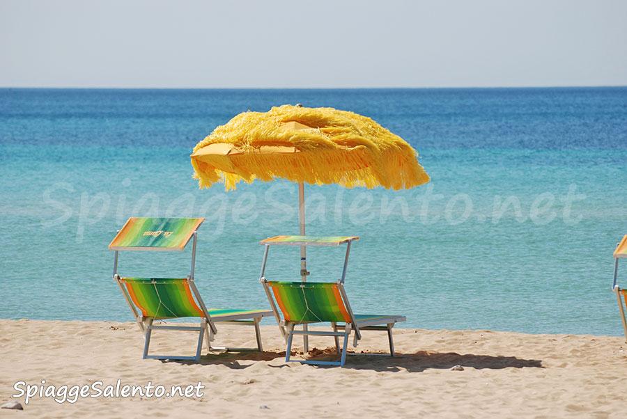 le spiagge tropicali del salento