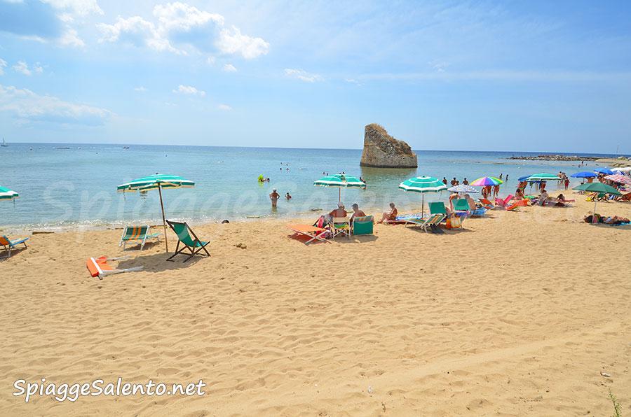 La spiaggia di torre pali nel salento - Torre specchia spiaggia ...