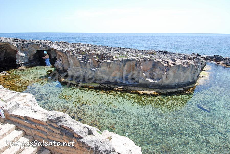 la piscina di Marina Serra nel Salento