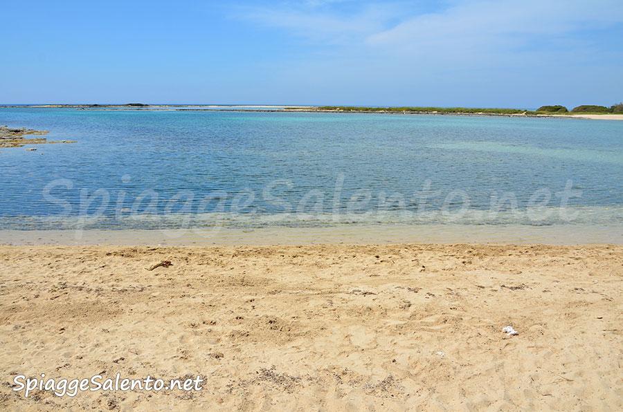 porto Cesareo sul mare nel Salento