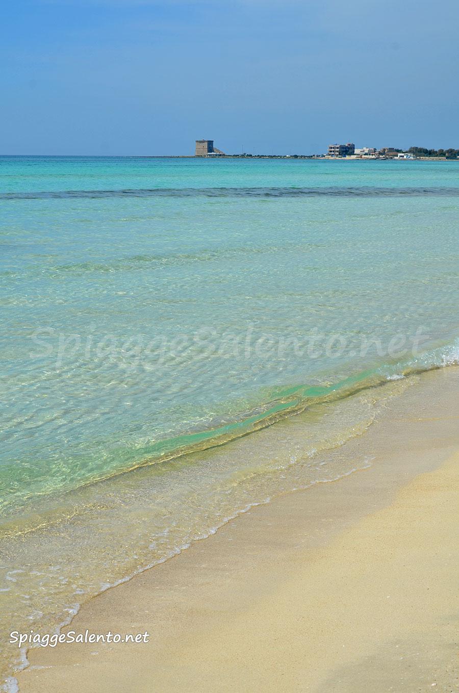 Torre Lapillo la bellissima spiaggia nel Salento