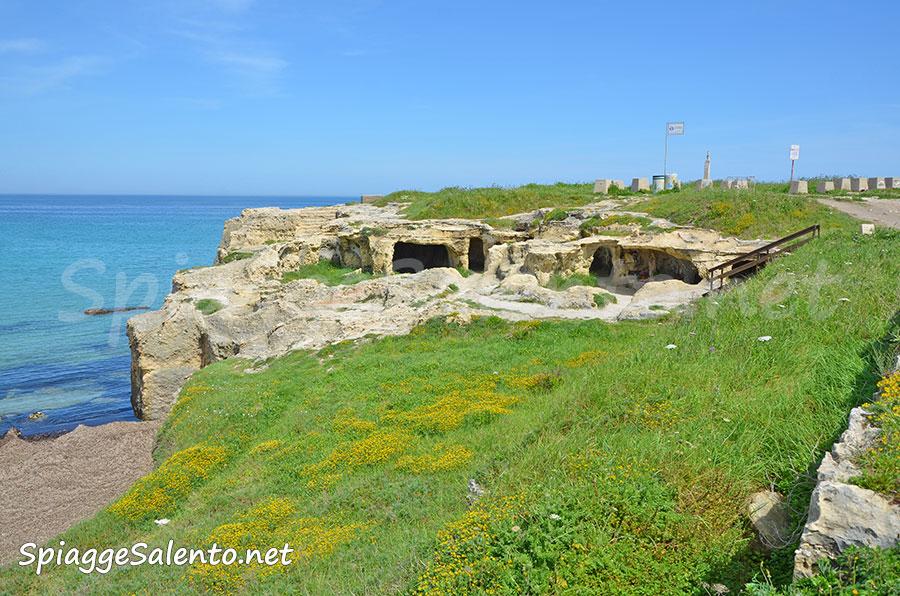 Roca Vecchia e le grotte costiere del Salento