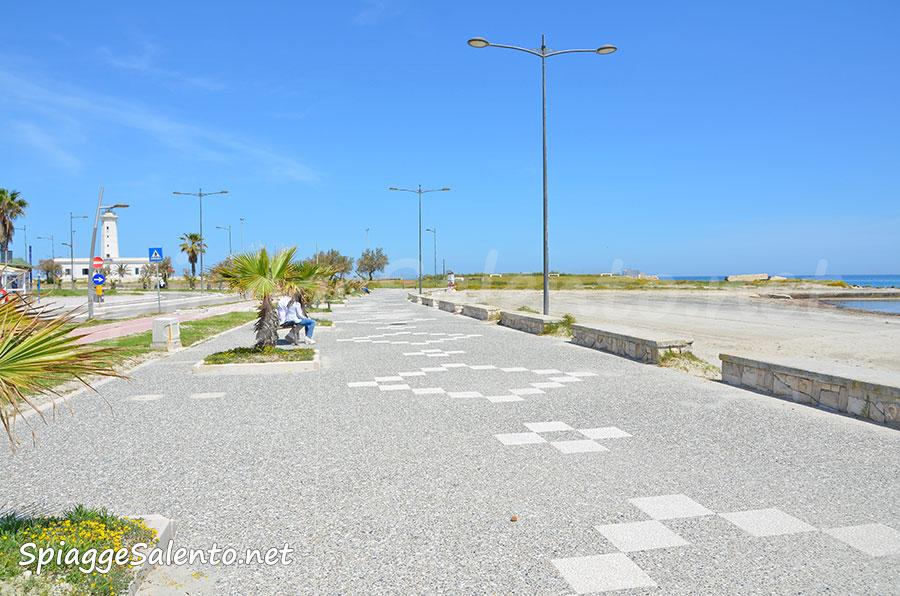 Il faro di San Cataldo in Puglia
