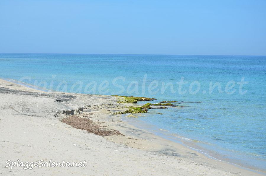 Le spiagge di sabbia a San Cataldo Salento