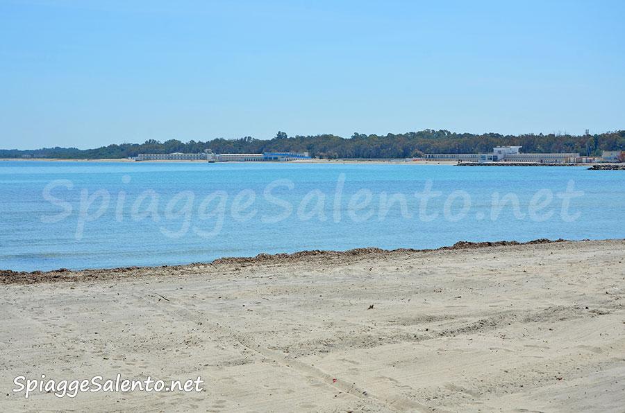 San Cataldo la spiaggia dei Leccesi