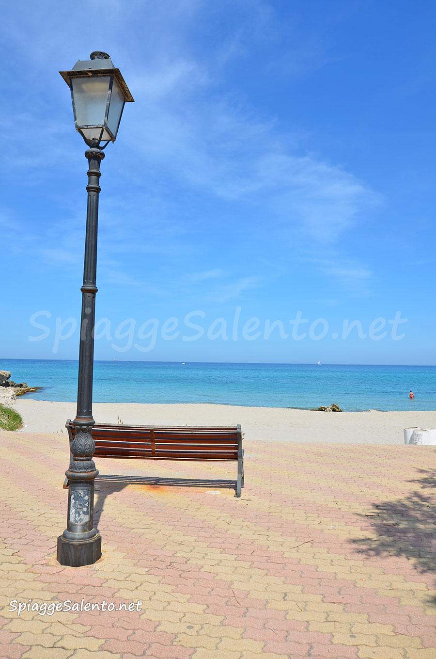 Spiaggia di San Foca nel Salento in Puglia
