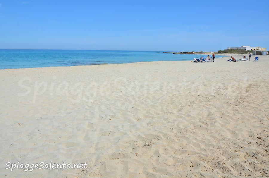 Bellissime spiagge di sabbia a San Foca nel Salento