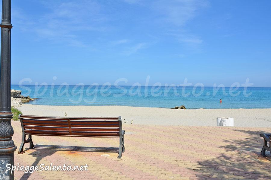 Le spiagge di San Foca ed il lungomare nel Salento