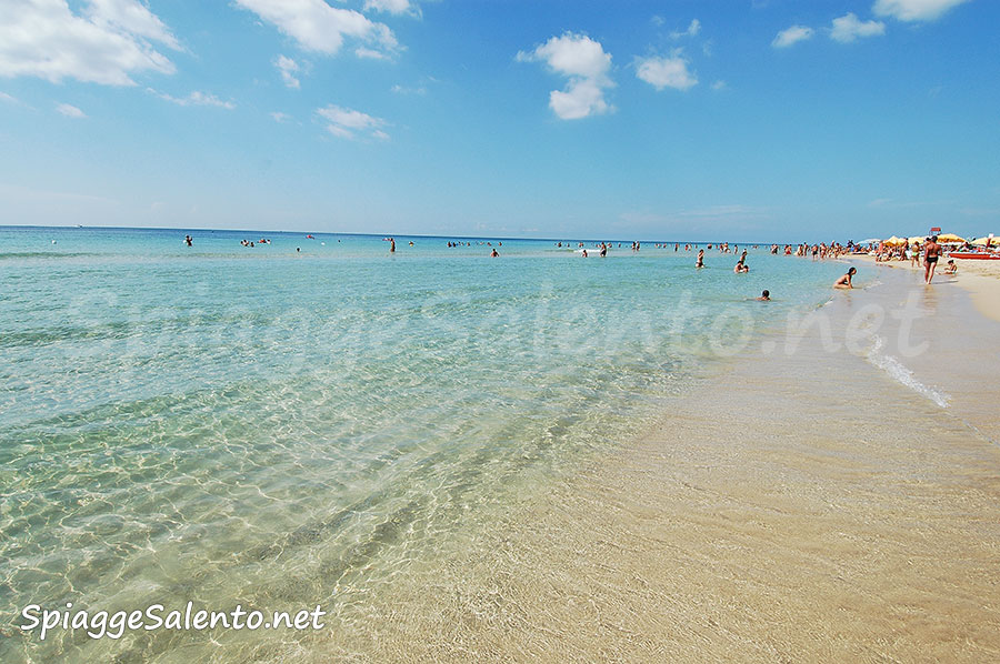 le spiagge sabbiose di Puglia