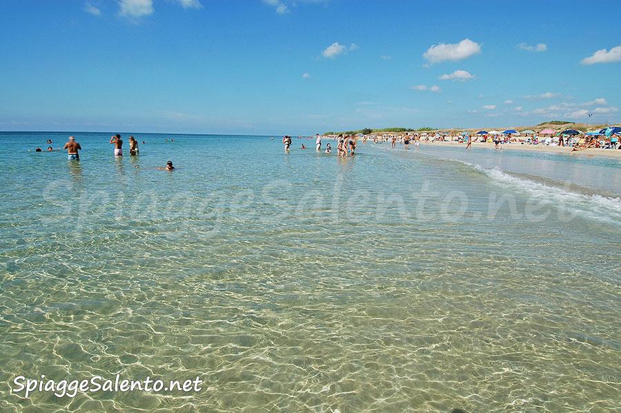 Foto Spiaggia le Maldife del Salento