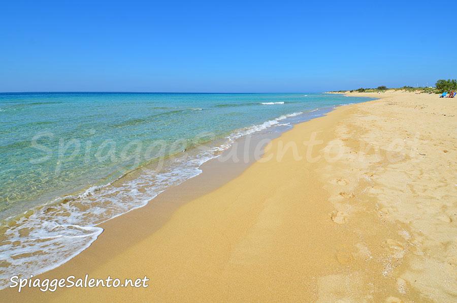 Meravigliose spiagge di Puglia nel Salento