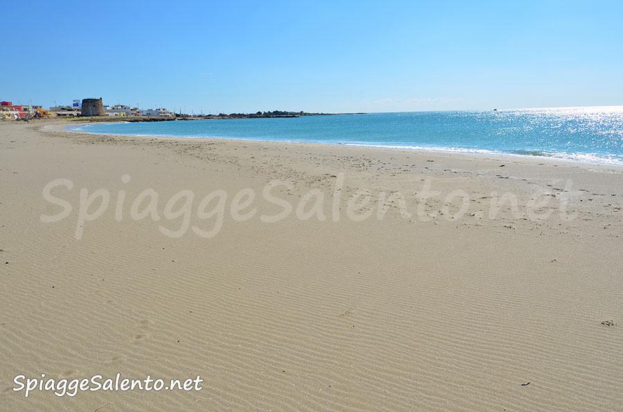 spiagge di sabbia nel Salento