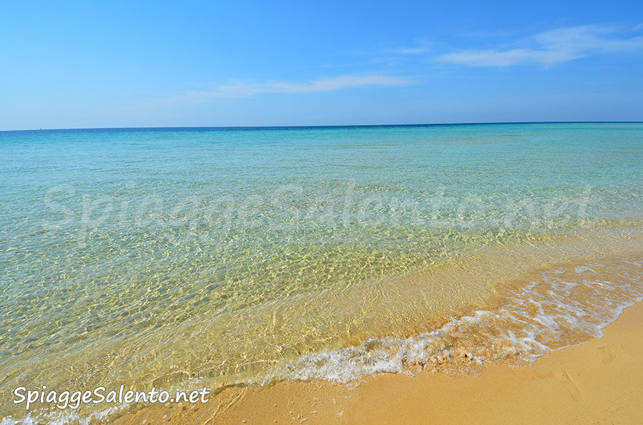 le splendide spiagge caraibiche del Salento