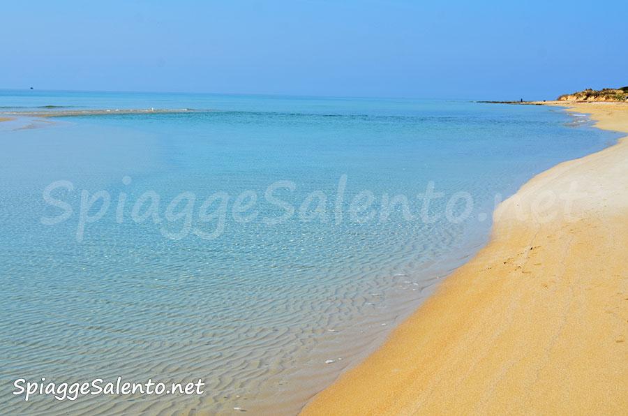 spiaggia tropicale del Salento