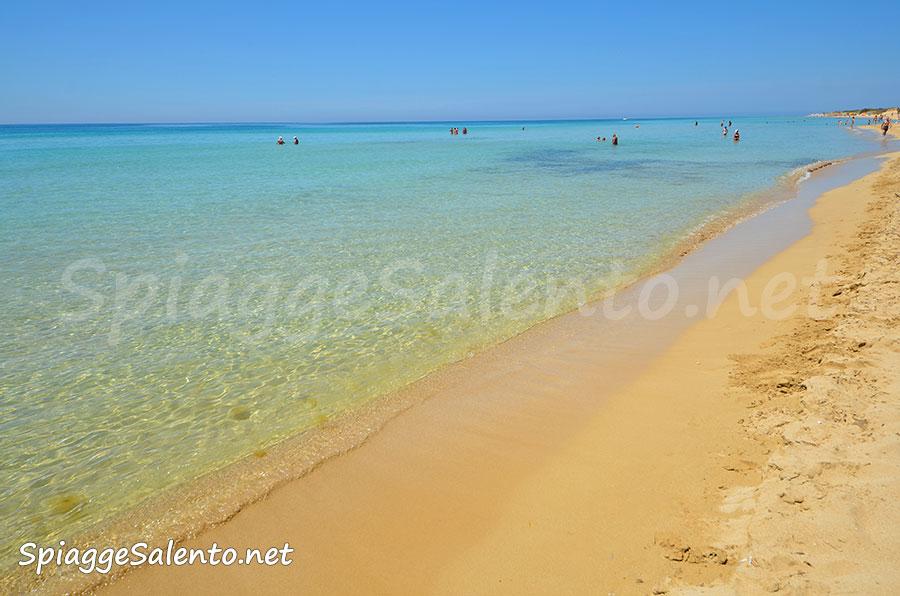 le spiagge dorate delle maldive del Salento