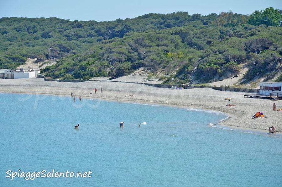 Torre dell'Orso spiagge e pineta nel Salento