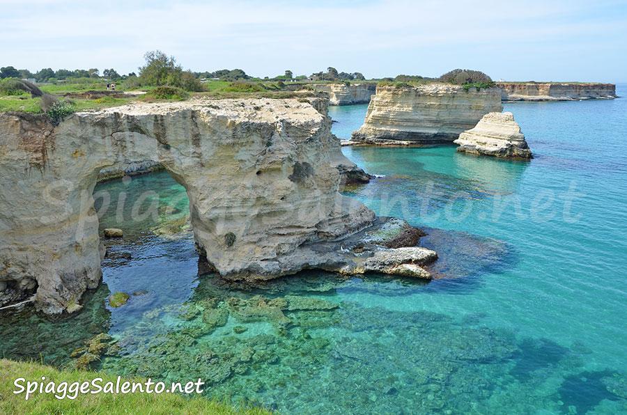 Torre dell'Orso i Faraglioni di Puglia