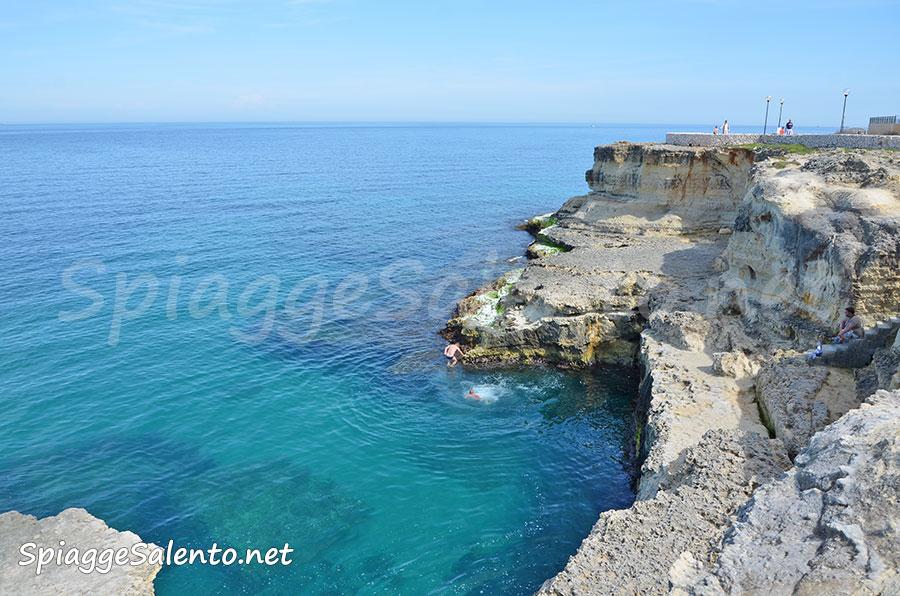 Torre dell'Orso mare splendido in Puglia