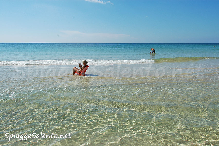 vacanze sulla spiaggia nel Salento