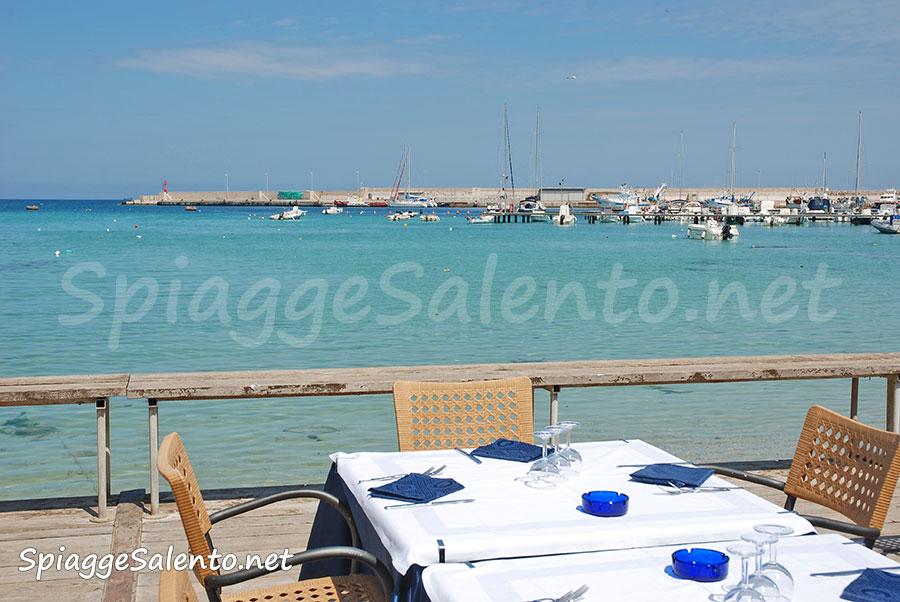 Otranto vista sulla spiaggia