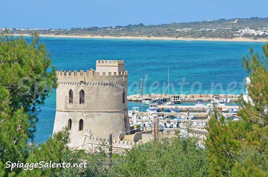 spiaggia di Pescoluse vista da Torre Vado
